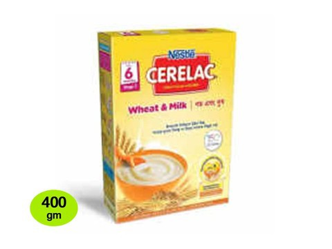 Nestle Cerelac 1 Wheat & Milk (6 months +) BIB 400 gm