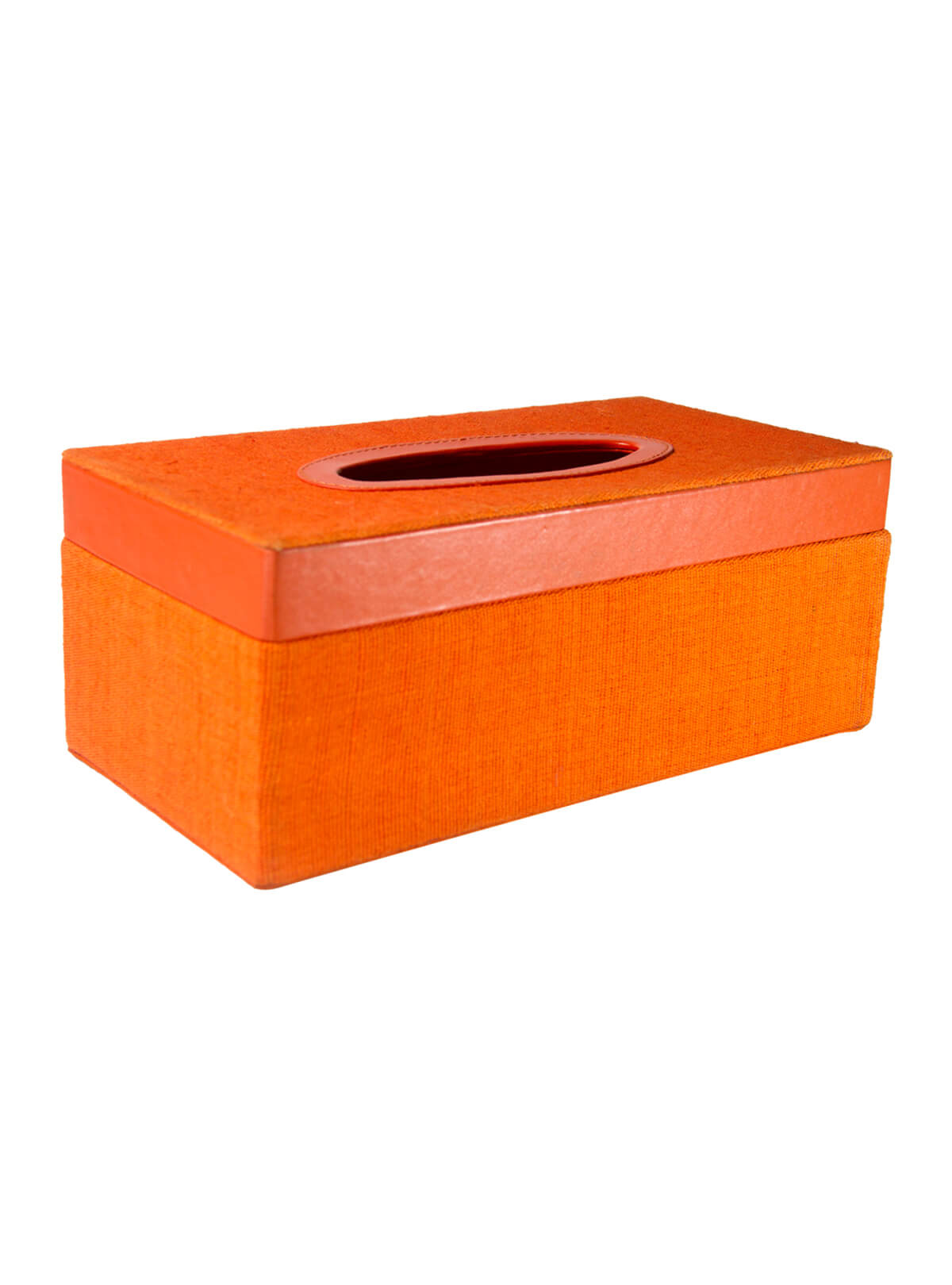 Fire Orange Tissue Box