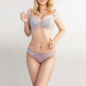Lovebite thin cup Underwear Set Push-up Lace Bra Set Women Lingerie panties bra & briefs set