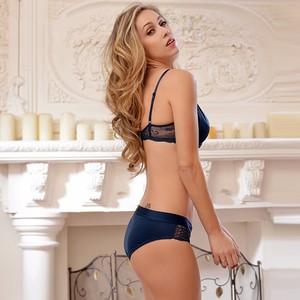 Lovebite Transparent bra and briefs lingerie set intimates