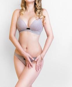 Lovebite Women Thin Cotton Lace Bra Lingerie Sets