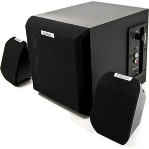 Edifier X100B (RMS 10 Watt Output 2.1 Home Audio Speaker)