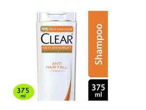 CLEAR Anti Hairfall Anti Dandruff Shampoo 375 ml