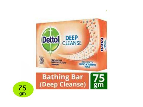 Dettol Soap Deep Cleans 75 gm