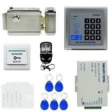 RFID Lock  Metal Electric Control Lock Remote Card Door Lock Normally Closed for apartment access control system bangladesh