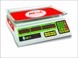 Mega Digital Weight Scale 40kg ( 1 grm to 40kg)