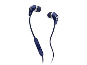 Skullcandy 50/50 - Navy Blue/Chrome w/Mic - S2FFFM-259