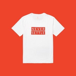 OnePlus T-shirt(White-Red)