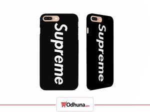 Supreme Phone Cover Black