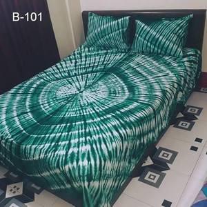 Batik Bedsheet - Circle Design