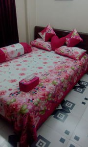 8 pieces double size cotton bedsheet