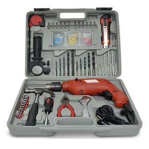 Multipurpose Tool Kit with Powerful Drill Machine
