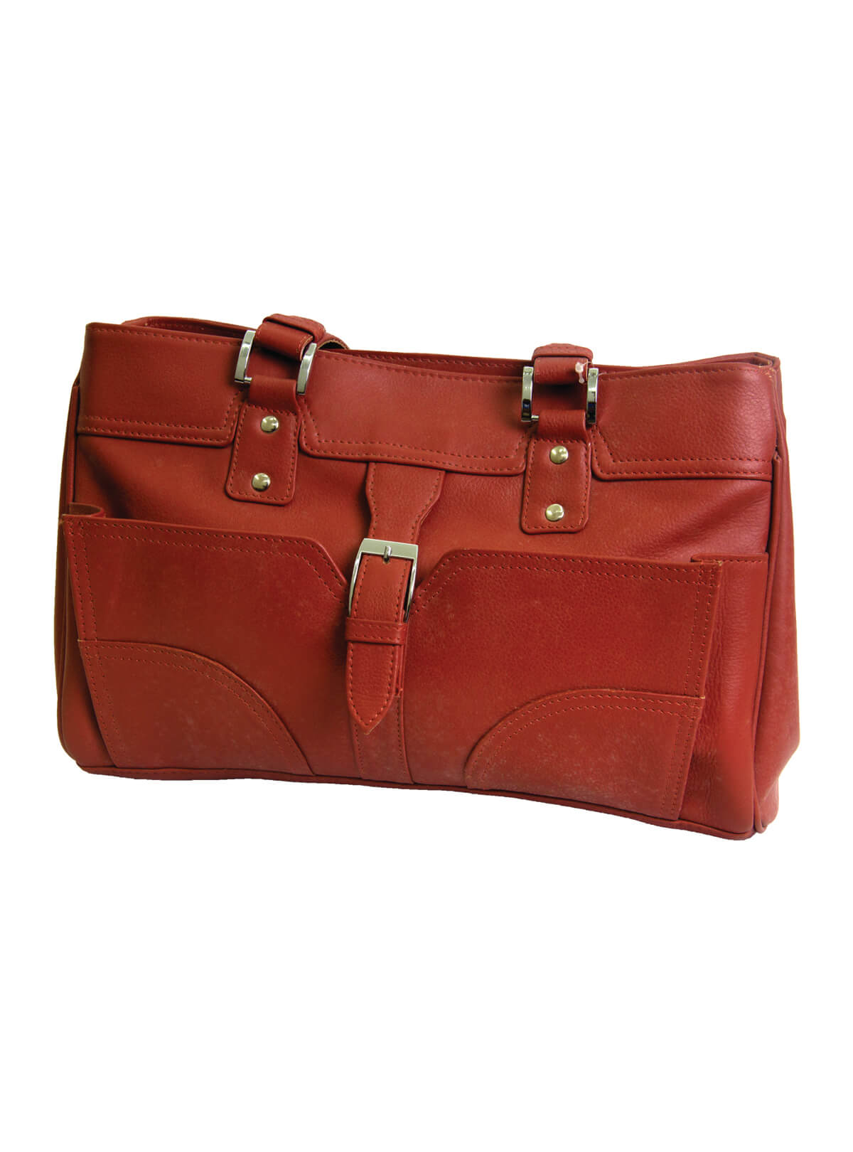 Medium Carmine Red Toky Ladies Bag