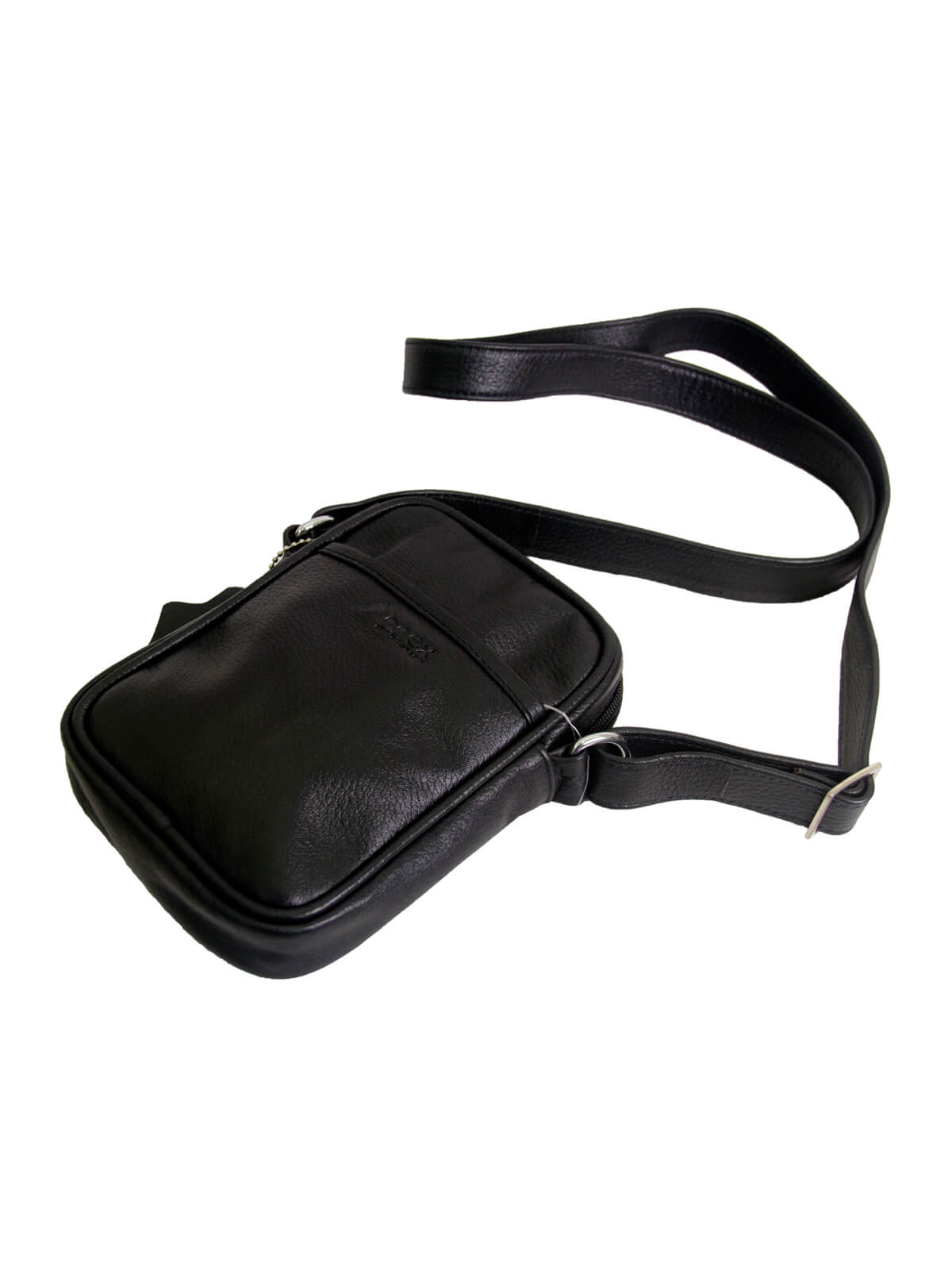 Black Small Gent's Side Bag