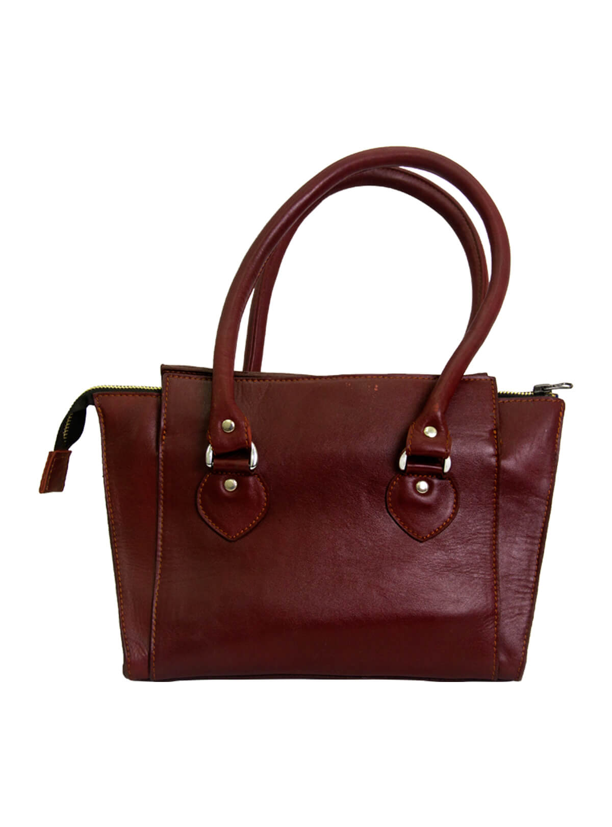 Burnt Crimson Red Medium Ladies Bag