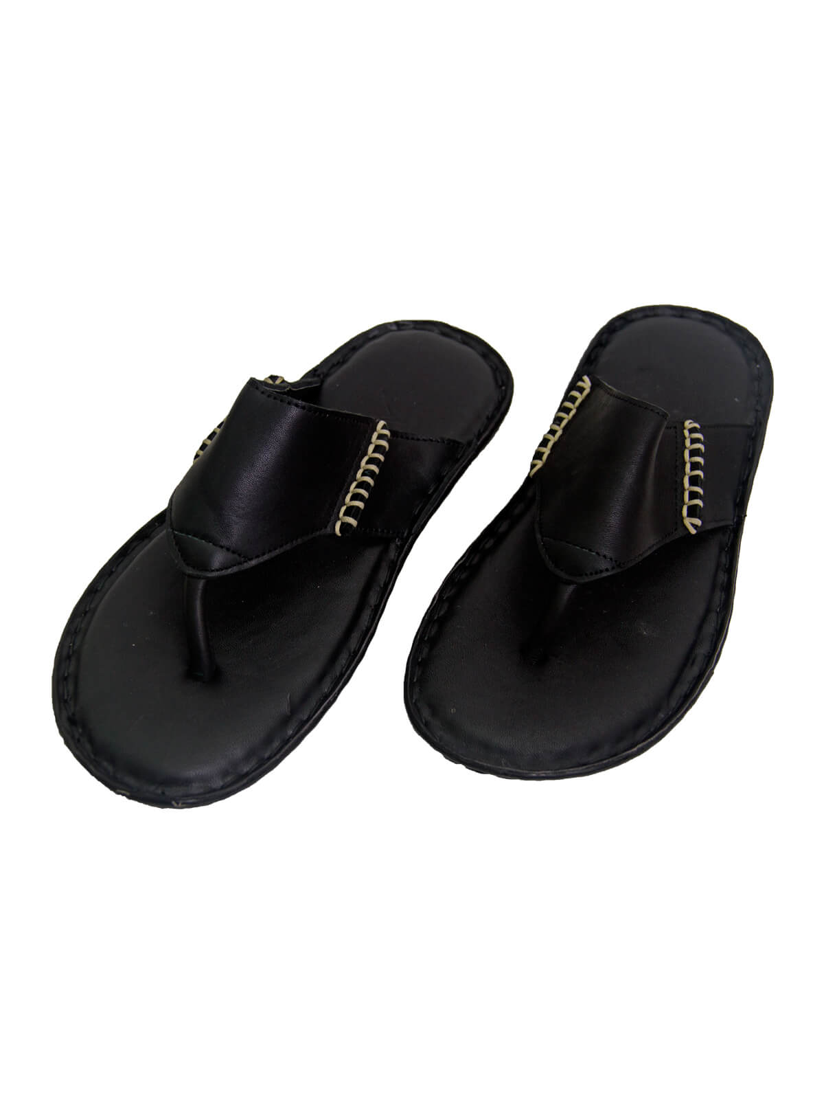 Black Gent's two Side Bani Sandal