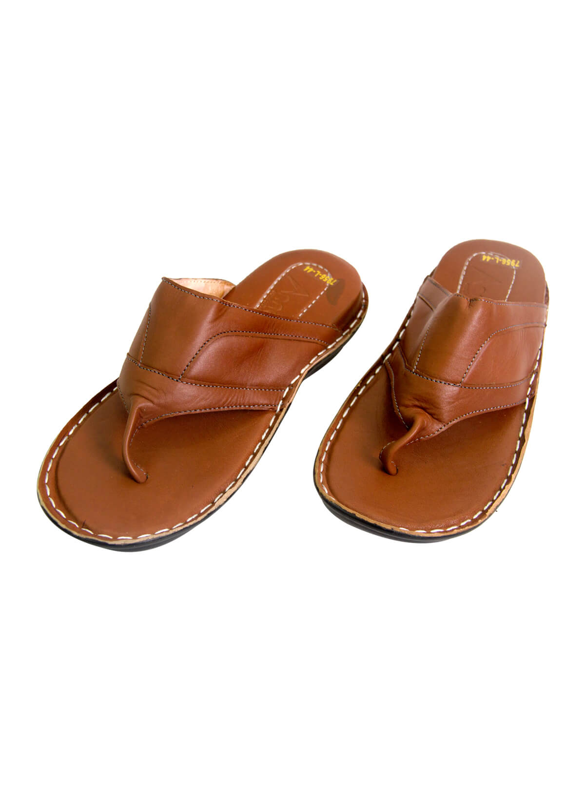 Russet Brown Gent's Leather Sandal