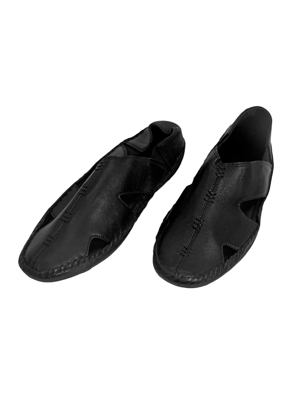 Black Cycle Shoe