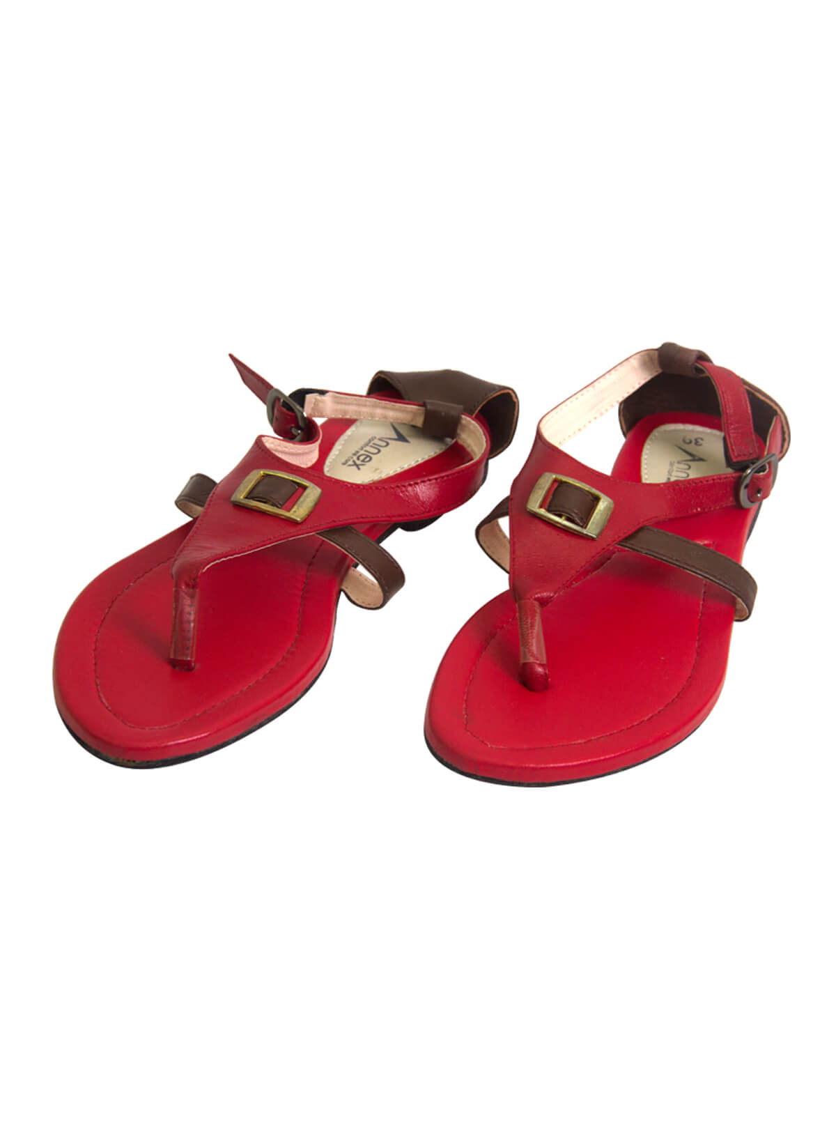 Brick Red Ladies Sandal