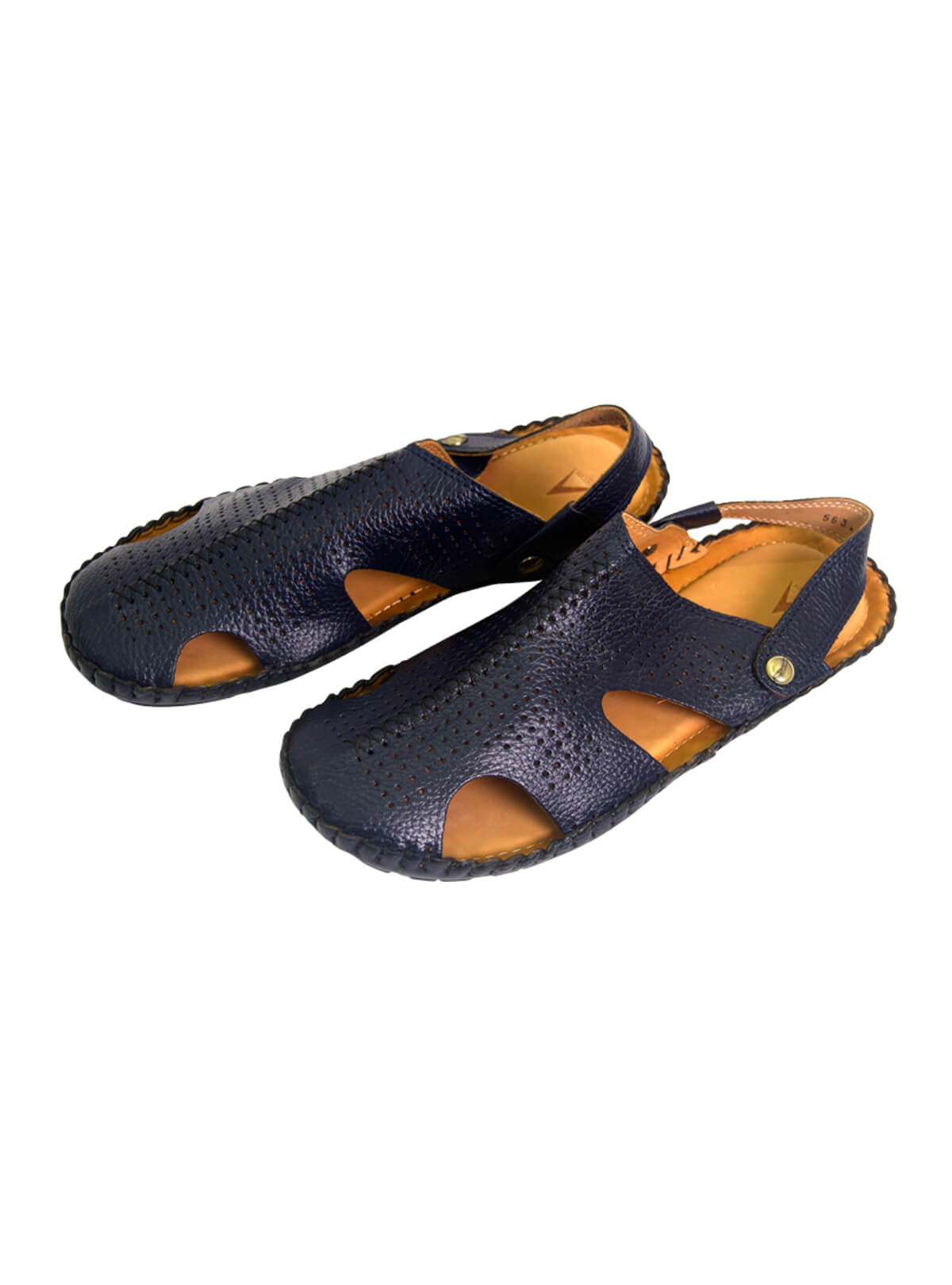 Blue Zodiac Gent's Leather Sandal