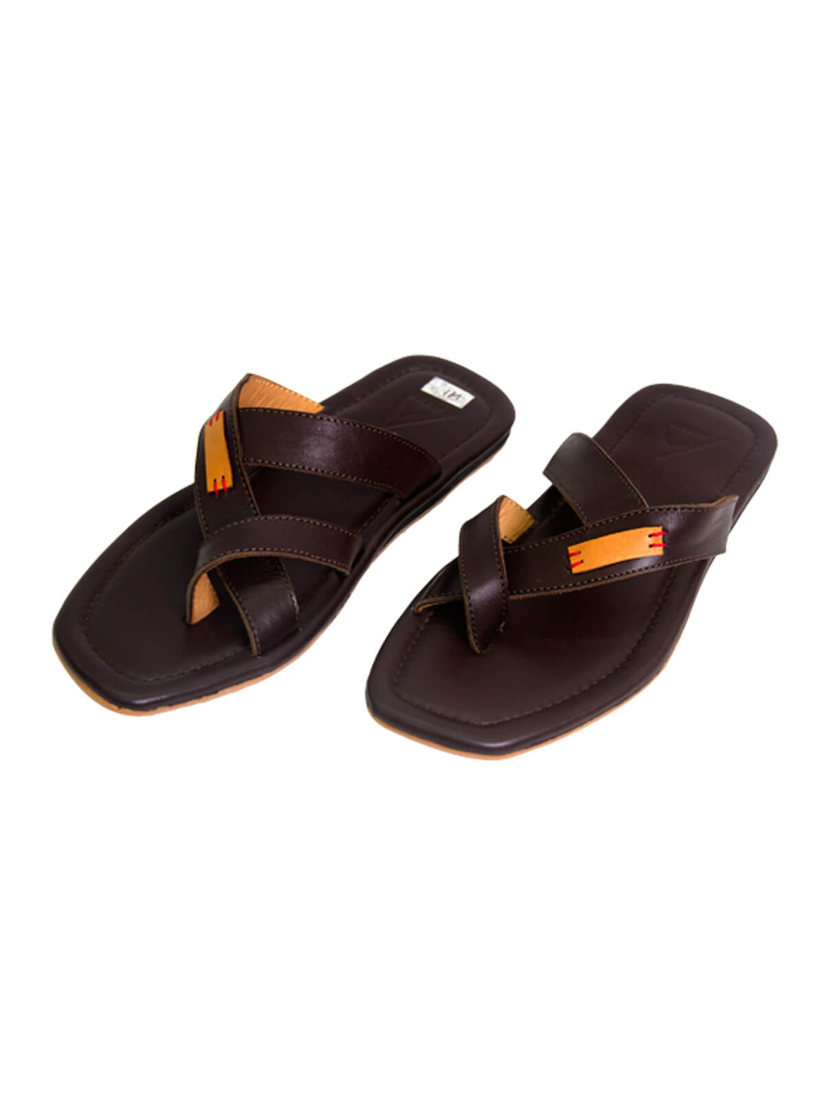 Temptress Brown Gent's Leather Sandal