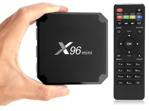 Android 4K Mini Smart TV Box by X96 2GB/16GB