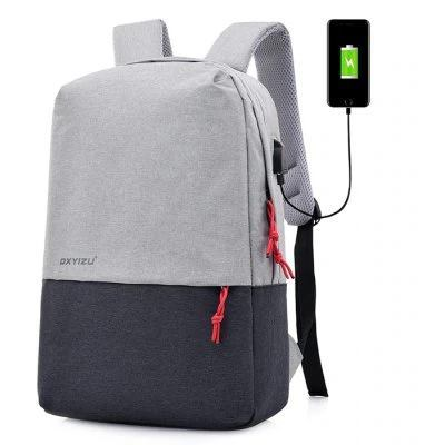 DXYIZU Laptop Backpack, USB Charging Port,Water Resistant Backpack