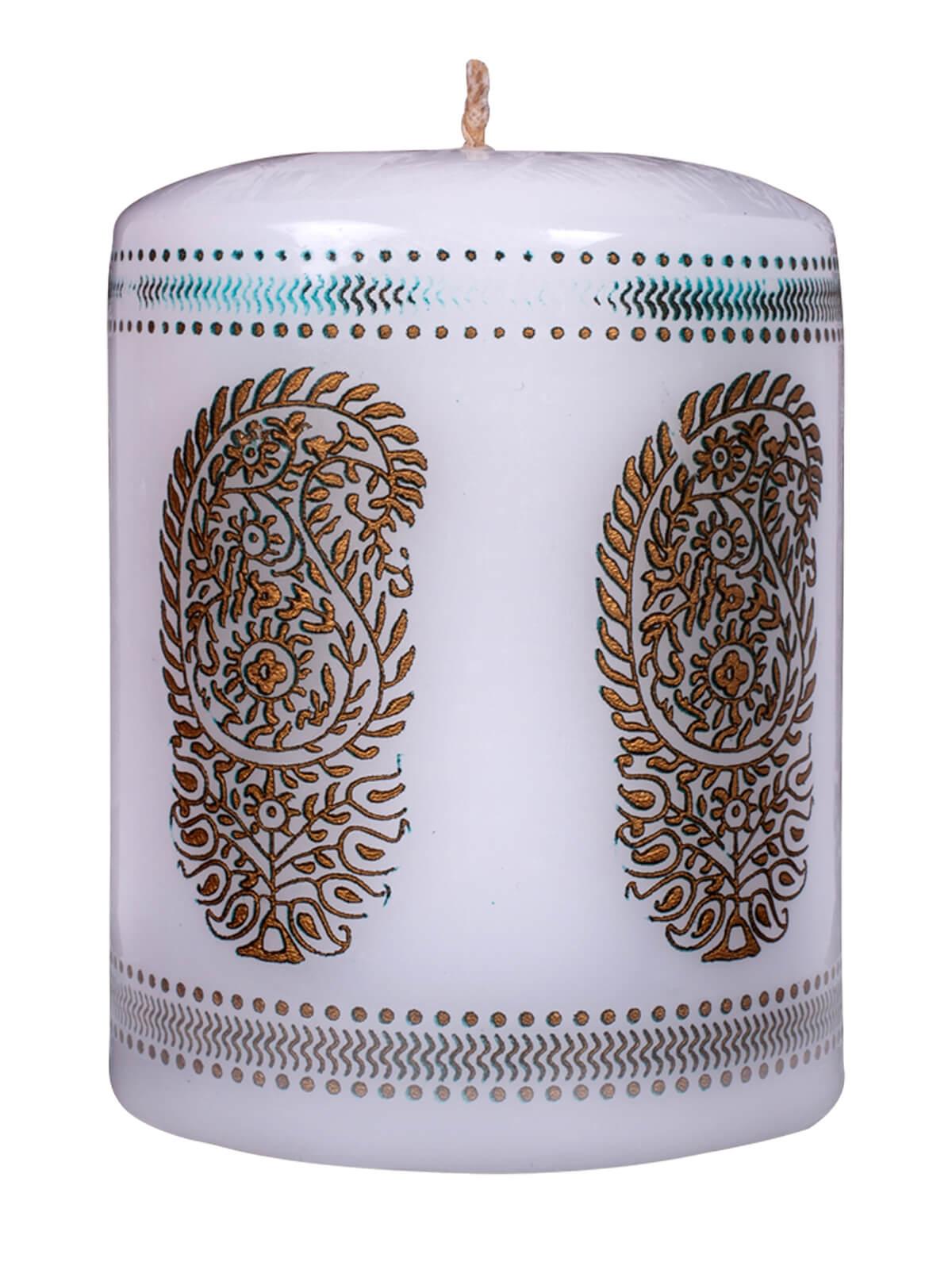 White Kalka Candle
