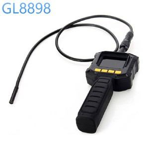 Inspection Camera W/LCD Screen Near&Far Focus Switch Industrial endoscope Pipeline Camera Video Output GL8898 8mm Endoscope Tube