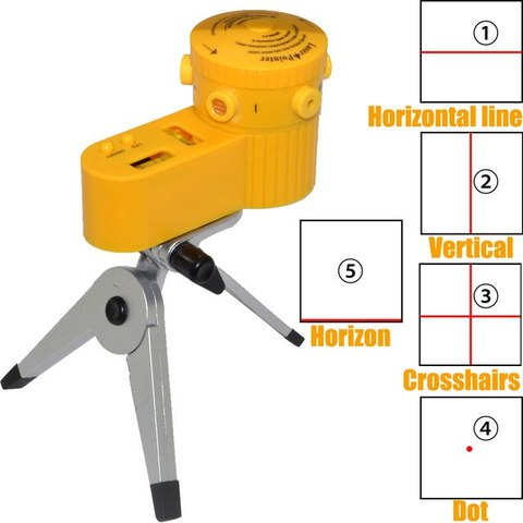 Multi-function Laser Levels Five-Line Laser Level With Tripod LV06