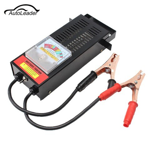 6V/12 200 Amp Battery Load Tester with Heavy Duty Insulated Copper Clips and Carrying Handle for Automotive Repair