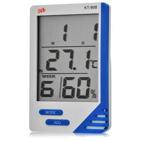 Digital Indoor Outdoor In/out Thermometer Hygrometer Humidity Meter Moisture