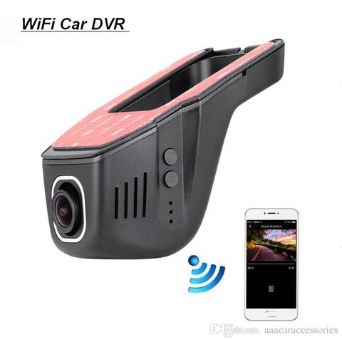 Wifi Car Dvr DashCam Video Recorder Camcorder 170 Degree Wide Angle Full HD 1080P Dual Camera Lens Reistrator