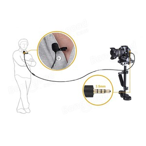 Clip Microphone- BOYA BY-M1 for PC, DSLR and Smartphone