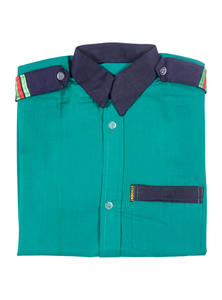 Persian Green Boys School Dress Shirt