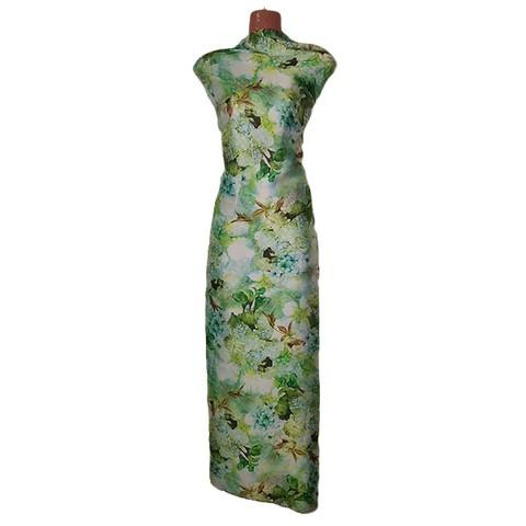 Chinese Shamu Silk Print (গজ কাপড় / Unstiched)