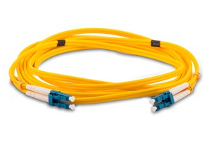 Optical Fiber Patch cord  LC/LC Single-Mode Duplex 5 Meter