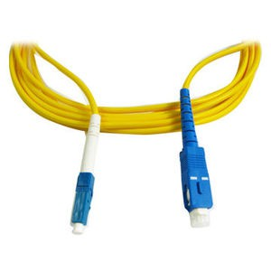 Optical Fiber Patch cord LC/SC Single-Mode Symplex 5 Meter