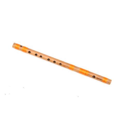 D Natural Medium Bansuri Flute 17 inches