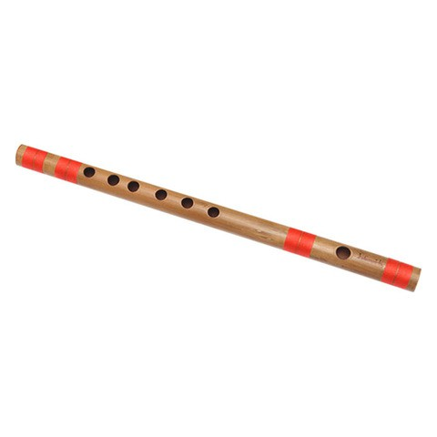 G Natural Medium Bansuri Flute 13.2 inches