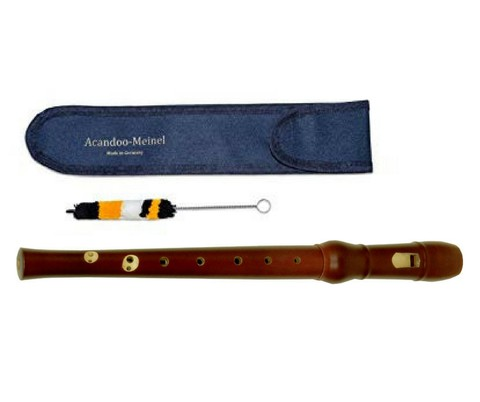 Meinel Descant Recorder, Maple Wood Made in Germany