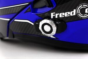BM2-E 8-way Double Lens Bluetooth Motorcycle Helmet Built-in 1500m Full Duplex Bluetooth Intercom Headset Waterproof FM Radio
