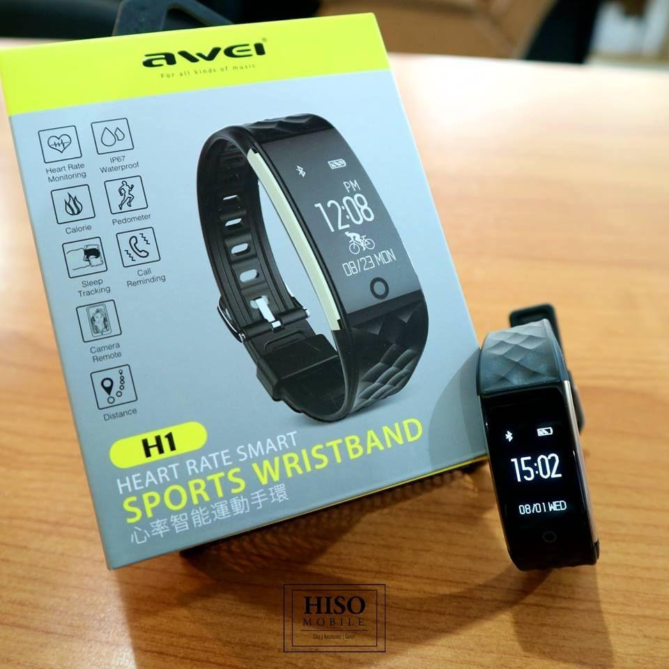 Awei H1 Heart Rate Smart Sports Wristband