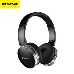 Awei A500BL foldable hi-fi stereo wireless headphones bluetooth headset