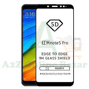5D  CURVED FULL  GLUE PROTECTOR GLASS FOR NOTE 5 AI