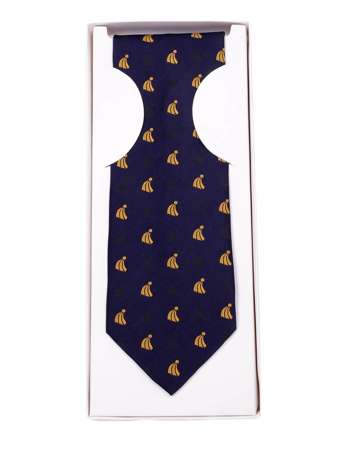 Dark Blue Theme Tie