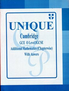 Unique Cambridge GCE O level IGCSE Additional Mathematics