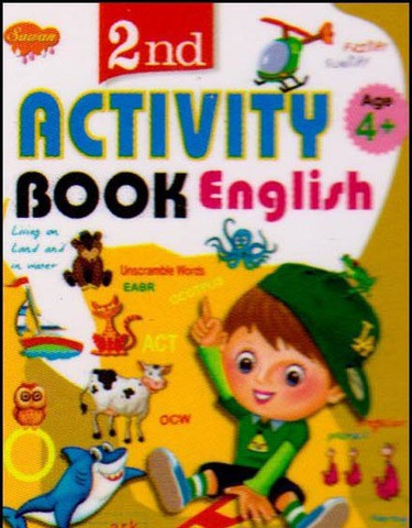 2nd Activity Book English (4+)