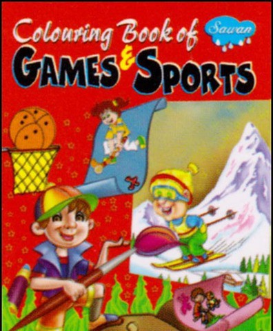 Colouring Book of Games & Sports