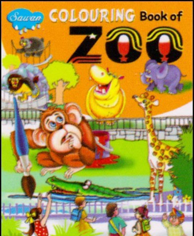 Colouring Book of Zoo